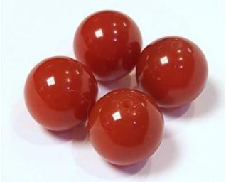 Бусина сердолика шар