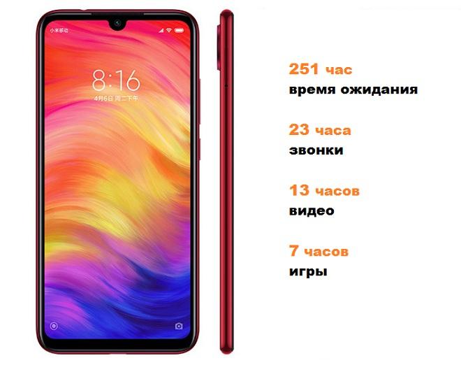 Xiaomi Redmi 7 аккумулятор