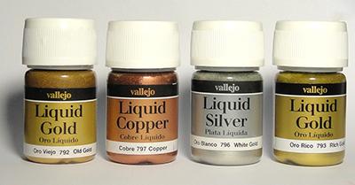 Краски Vallejo Liquid Gold