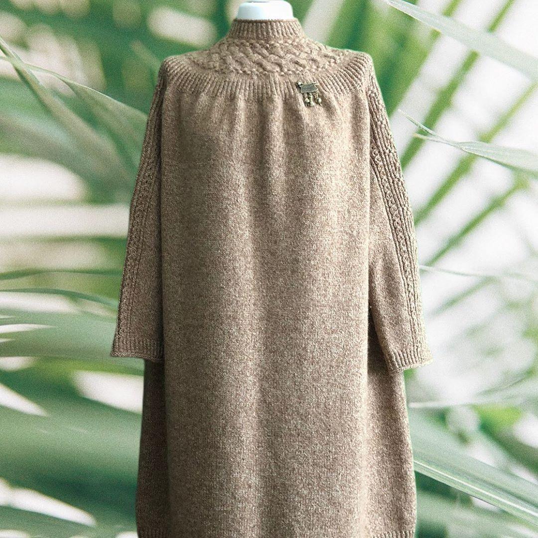 платье из верблюжьего пуха сарлаг