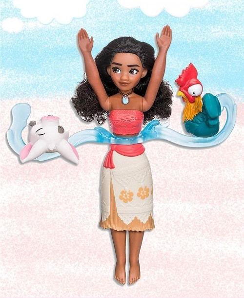 Набор кукла Моана и её друзья, игры с водой