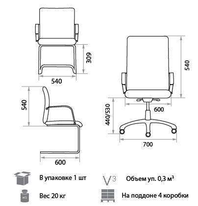 Кресло Зорба размеры