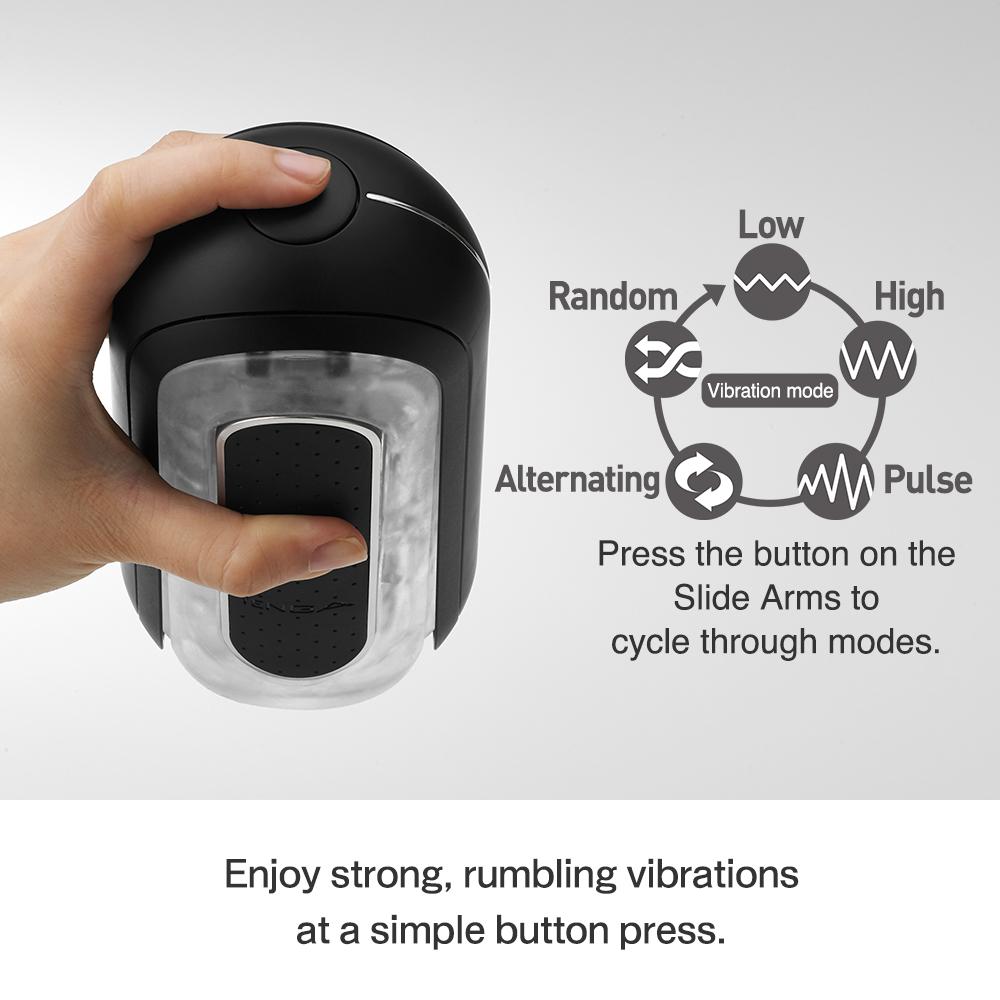Tenga - Flip Zero 0 Electronic Vibration Black управление вибрацией