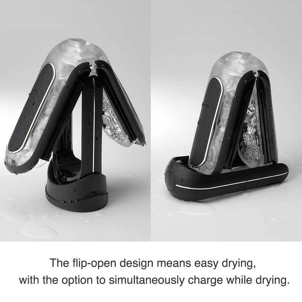 Tenga - Flip Zero 0 Electronic Vibration Black как мыть