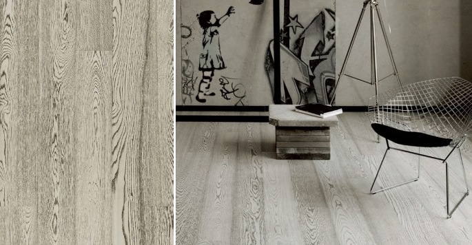 Дуб Concrete Grey (однополосный)
