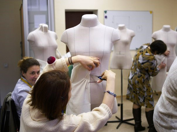 Академия Burda курсы наколки на портновских манекенах RDF Group