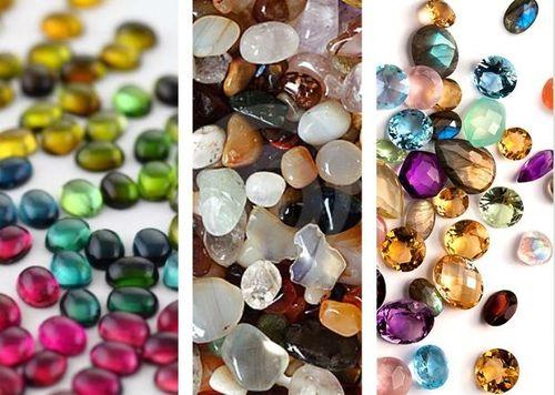россыпь драгоценных камней