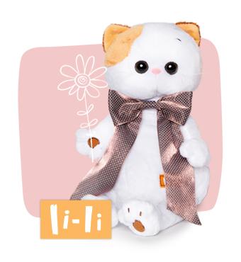 Кошечка ЛиЛи мягкая игрушка BudiBasa