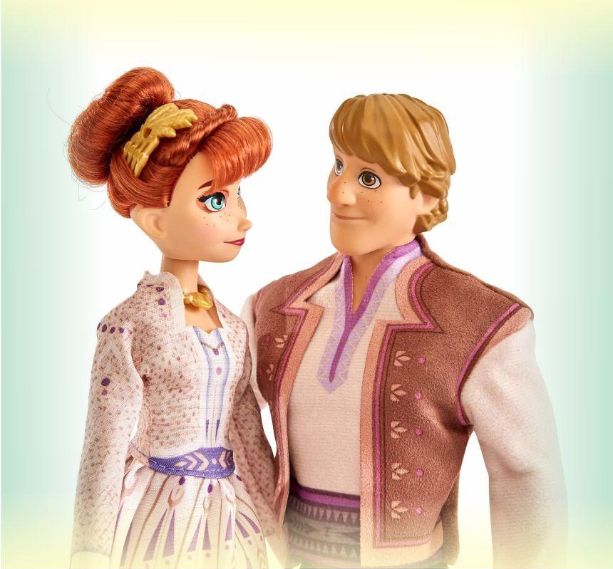Набор кукол Анна и Кристофф из мультфильма Холодное сердце 2