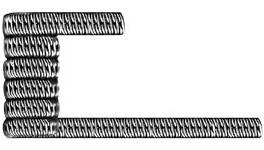 Спираль GeekVape Staggered Fused Clapton KA1/NI80 0.45ом