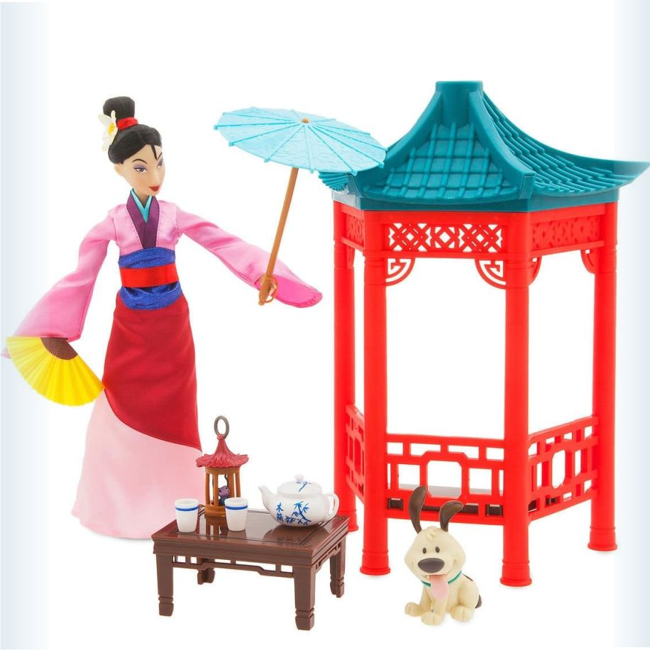 Набор куклы Мулан Чайная церемония