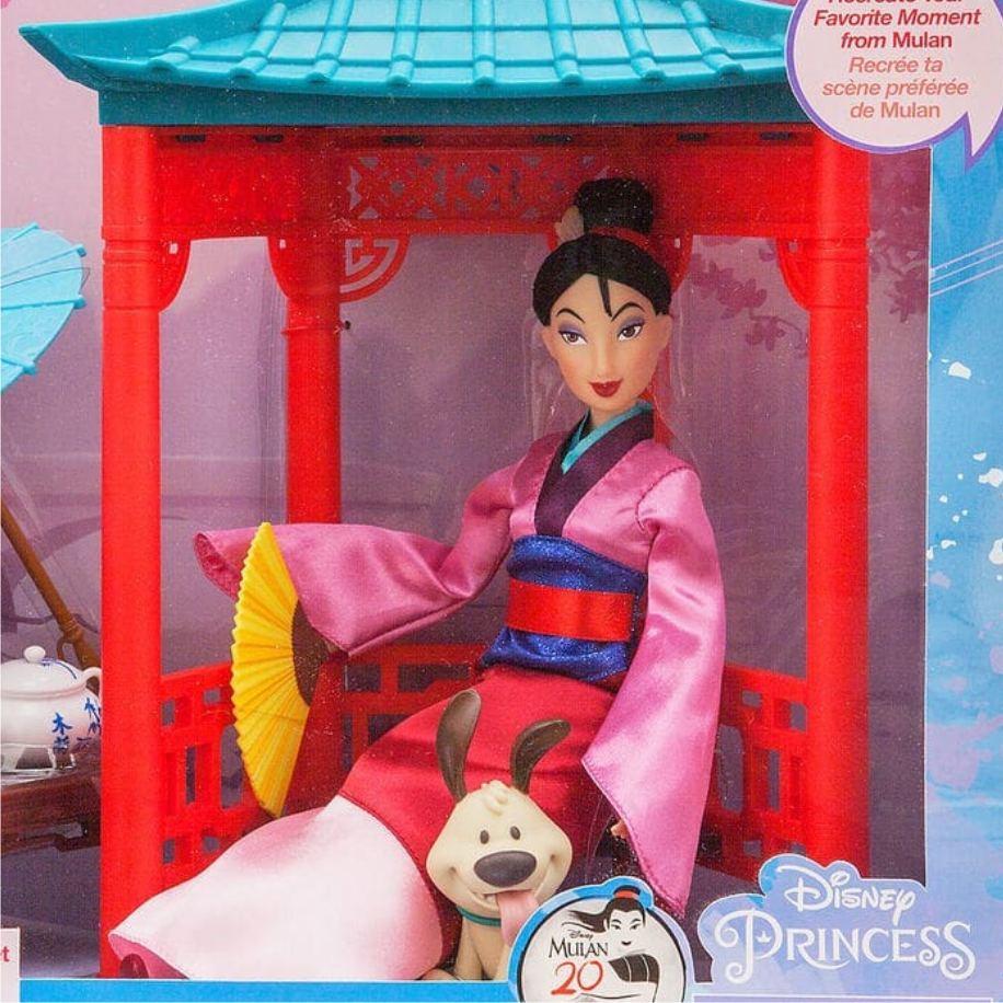 Набор Мулан Чайная церемония (вид упаковки с куклой)