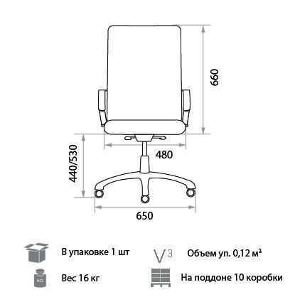 Кресло Грета размеры