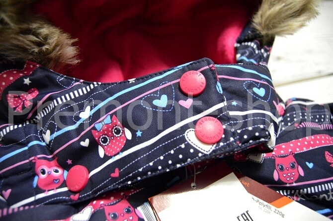 Застежка на капюшоне куртки Premont Рождество в Калгари