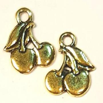 Металлические подвески в цвете золото