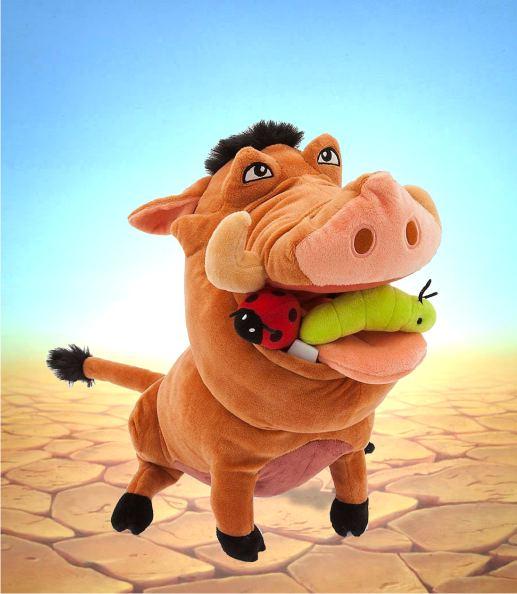 Игрушка Пумба из мульфильма Король Лев