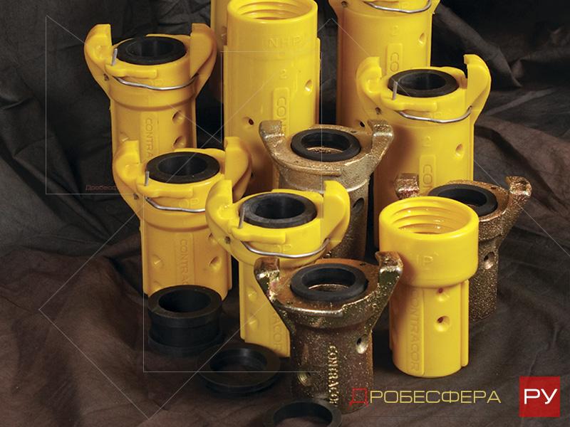 Соплодержатели сцепления для пескоструйных аппаратов