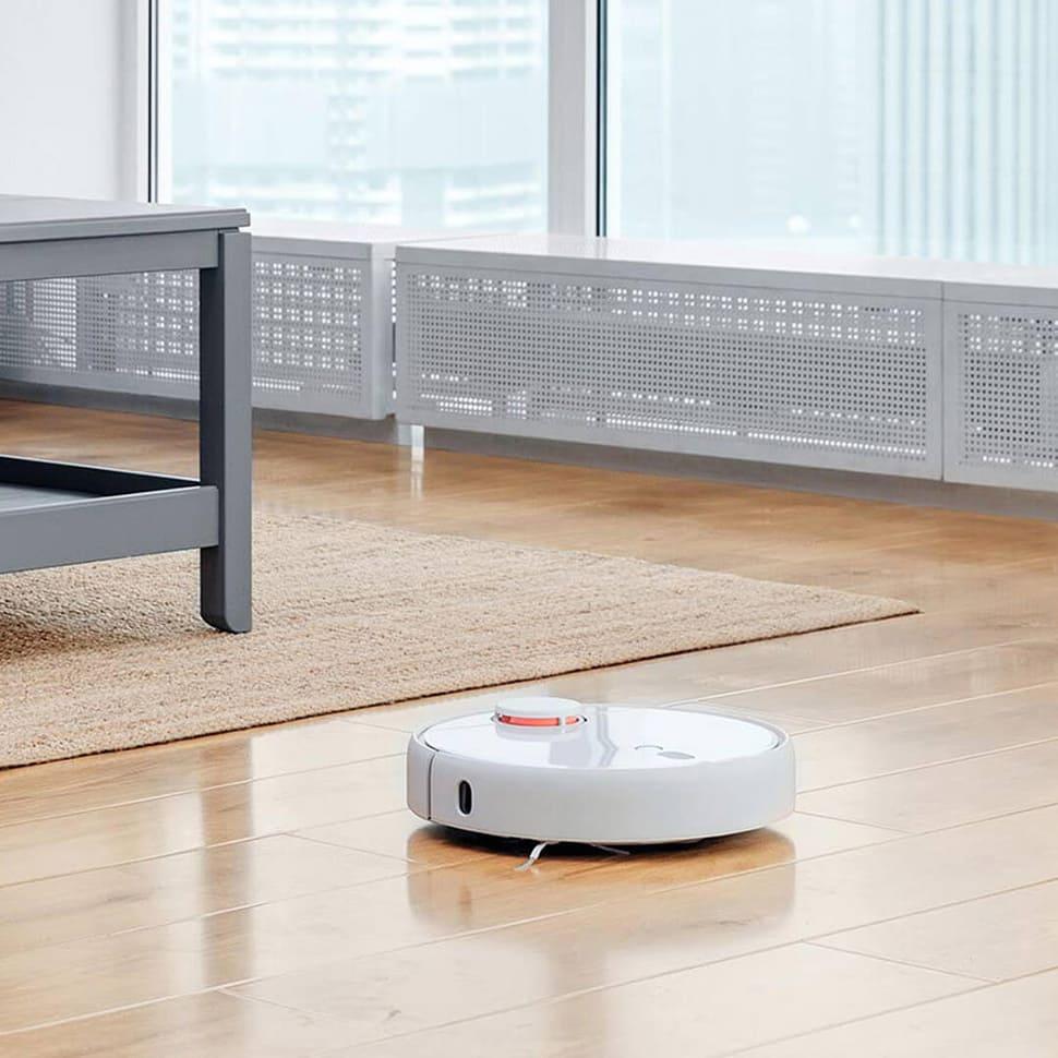 Робот-пылесос Xiaomi Mijia LDS Vacuum Cleaner (белый) стиль