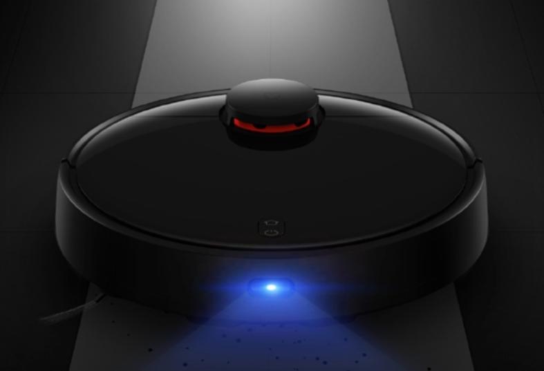 Робот-пылесос Xiaomi Mijia LDS Vacuum Cleaner (черный) лазерная система