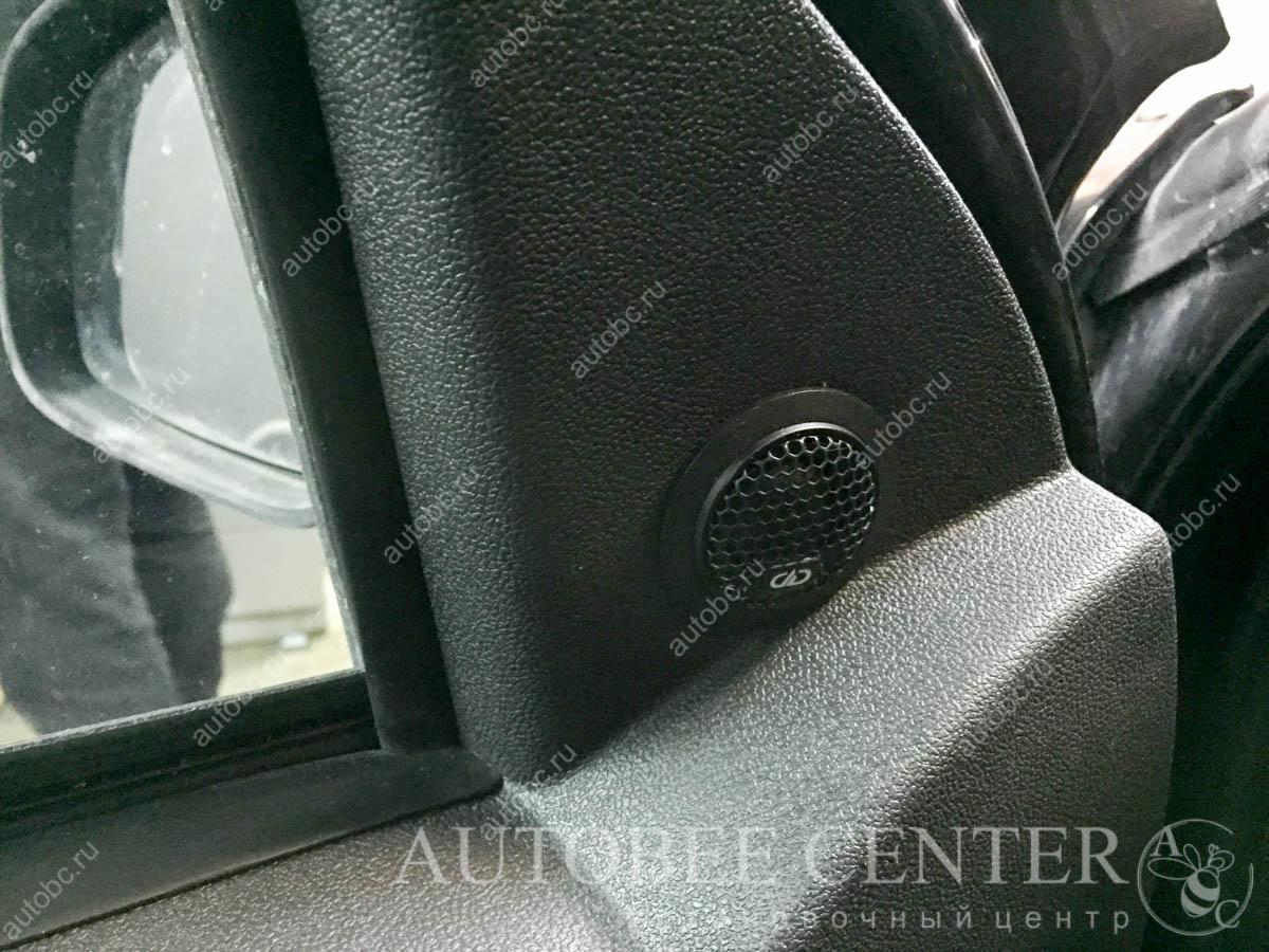Nissan Terrano (установка акустики DD EC6.5)