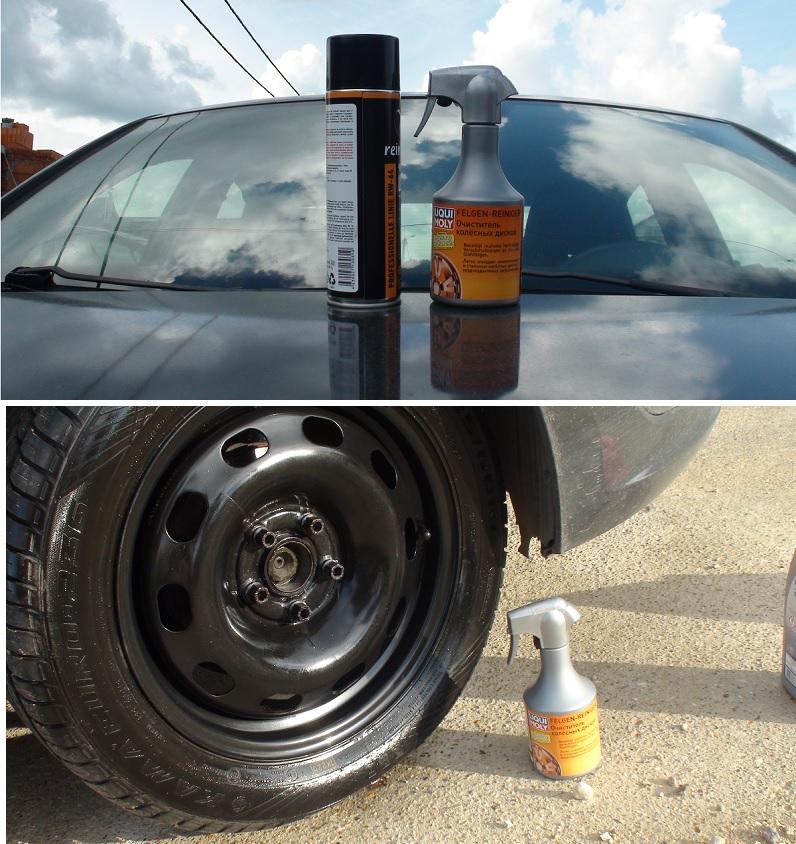 Средства для эффективной чистки колесных дисков автомобиля