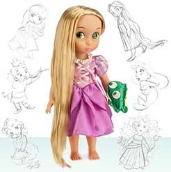 маленькая куколка Рапунцель