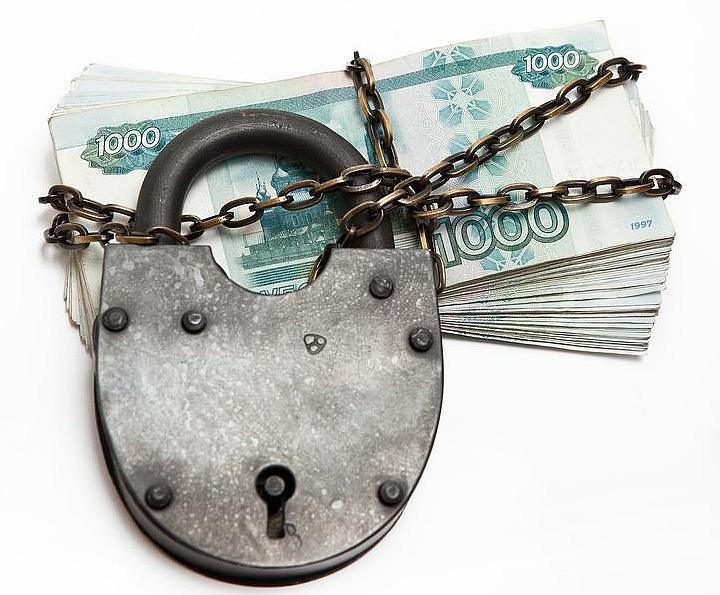 Банковская блокировка счета не распространяется на платежи, которые могут её снять