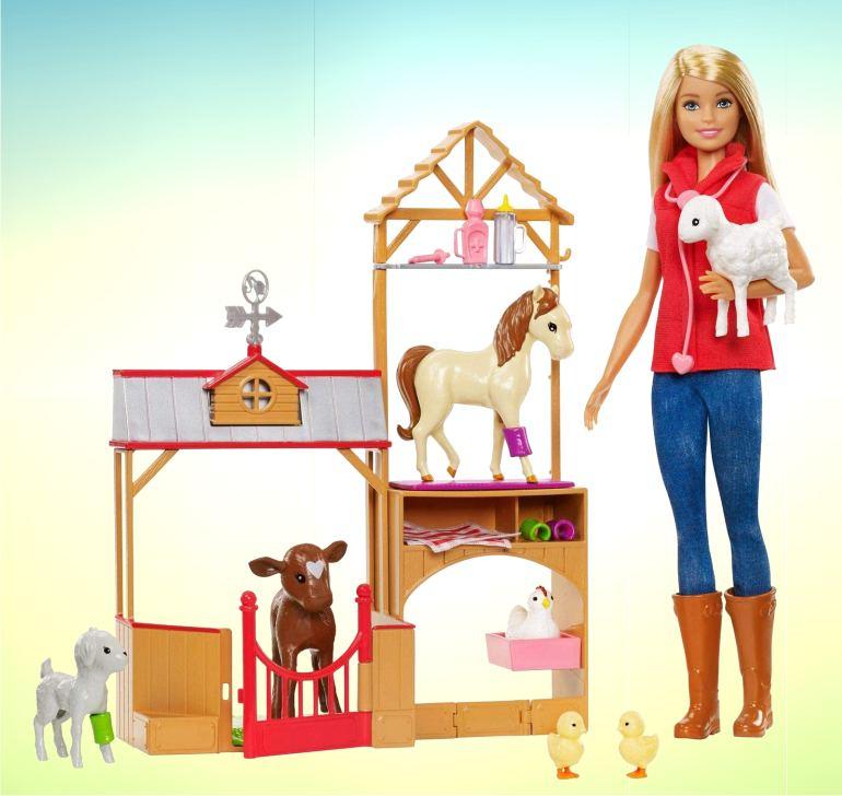"""Игровой набор Barbie """"Ферма"""""""