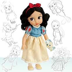 куколка Белоснежка от Disney Animators