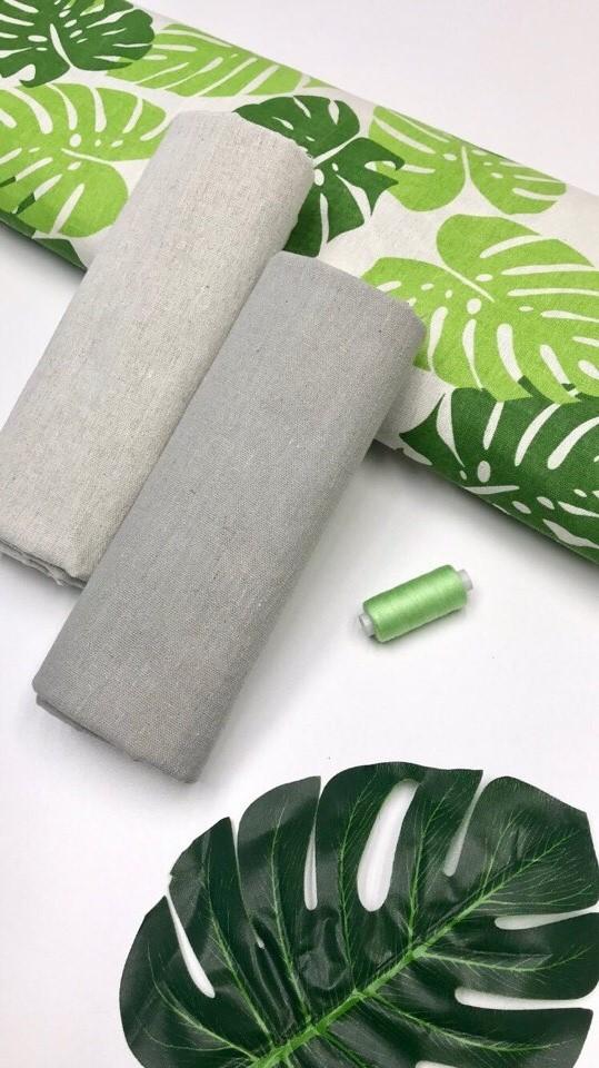 Купить ткань лен для дома
