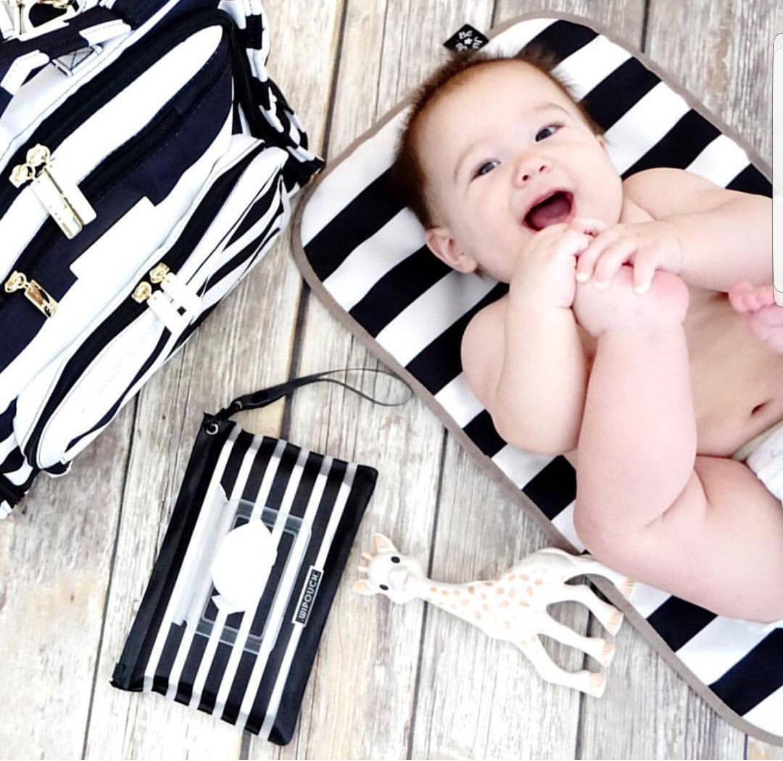 Позаботься о гигиене малыша с умной сумкой ju-ju-be