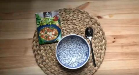 Сырный суп с индейкой