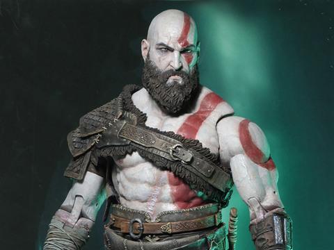 Новая фигурка Кратоса из игры God of War 4 от Neca