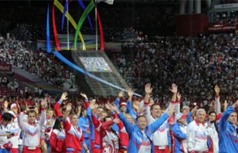 Поздравляем российских спортсменов с победами на Универсиаде в Казани!