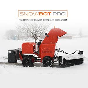 Робот-снегоуборщик запущен в серию
