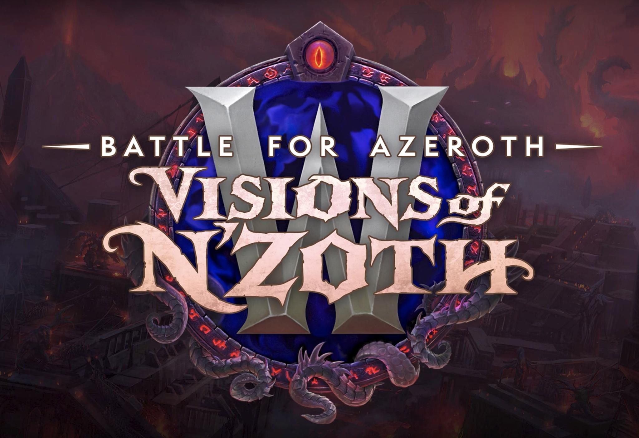 Raid Unlock Schedule for 8.3 BfA Visions of N`zoth