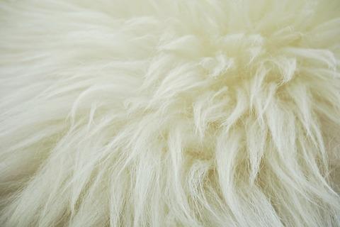 Искусственный мех из овечьей шерсти