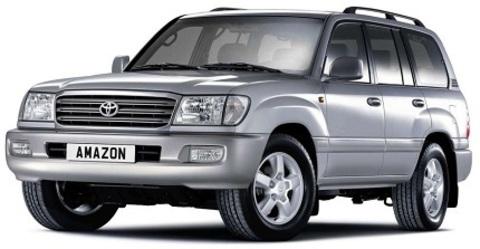 Toyota Land Cruiser 100. Пневмоподвеска