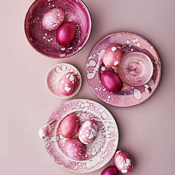 Как красить яйца на Пасху по-новому?