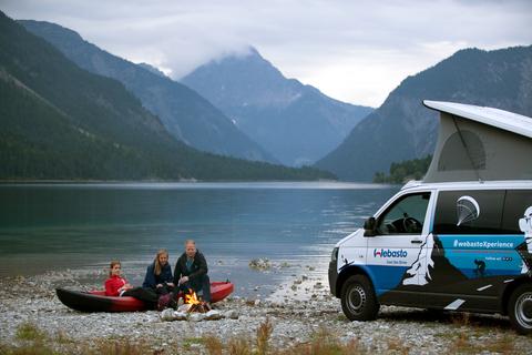 Webasto raffles winter adventure trips across Europe with the WebastoXperience-Car