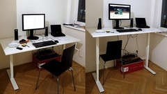 Офисная мебель для работы стоя и сидя