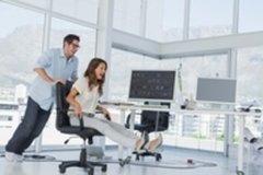 Чемпионат по офисным видам спорта: когда нужно надежное компьютерное кресло