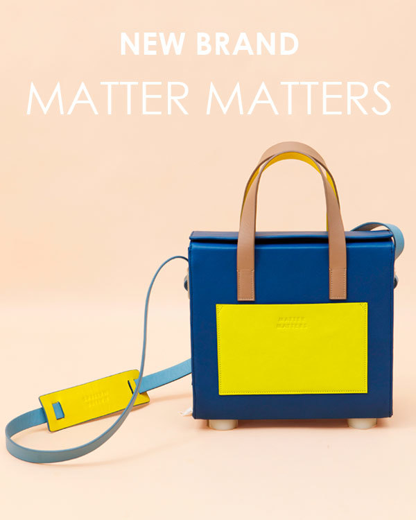 Спешите увидеть! MATTER MATTERS - новый яркий бренд!