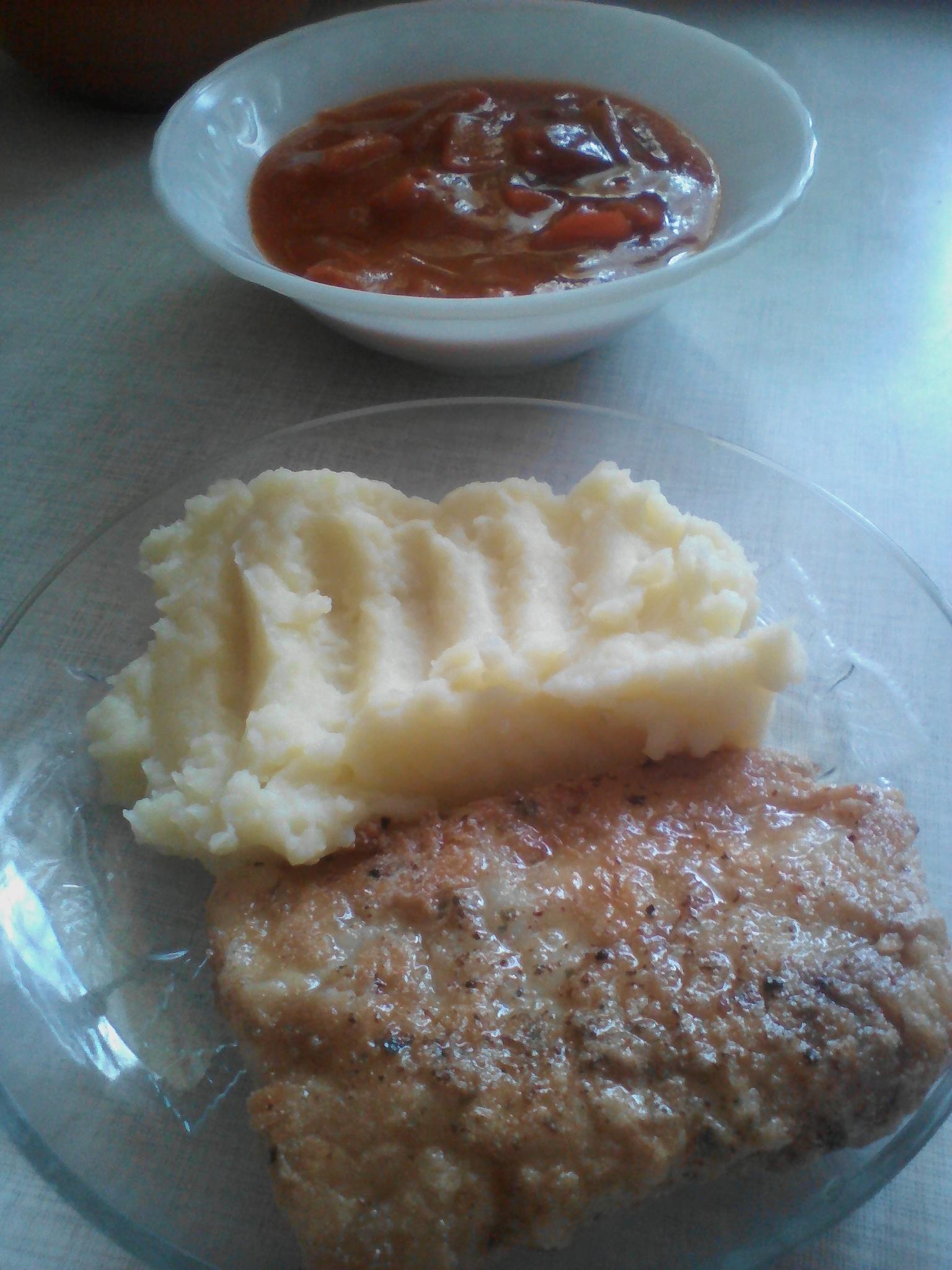 Рыба в рисовой панировке (По В.Похлебкину)