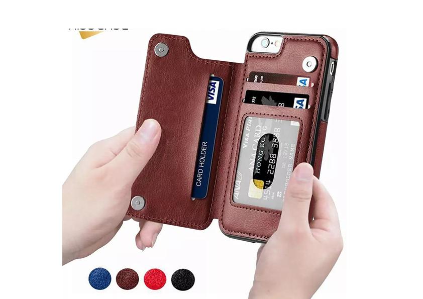 Бумажник-чехол на все модели Айфон!