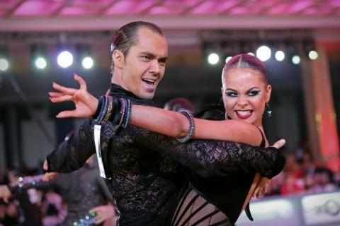Макияж для бальных танцев