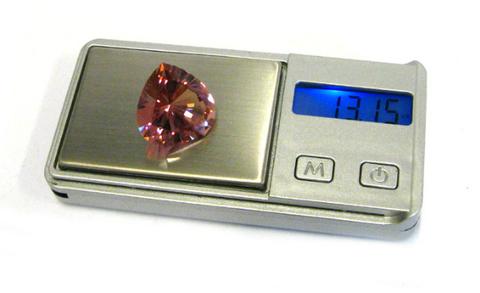 Как определить вес ограненного драгоценного камня, не имея весов.