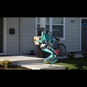 Двуногий робот-курьер от концерна Ford