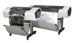 Плоттер HP DesignJet выдаёт ошибку «Нет чернил»