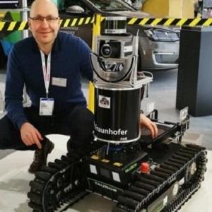 Робот-пожарный оценит вероятность взрыв